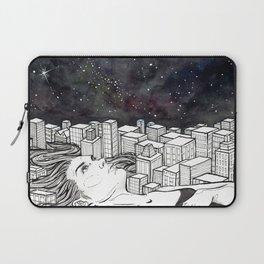 The City Never Sleeps Laptop Sleeve