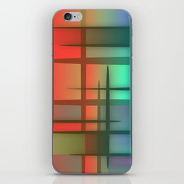 Abstract Design 6 iPhone Skin