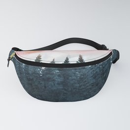Forest Under the Sunset Fanny Pack