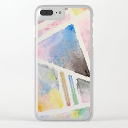Space for Separation Clear iPhone Case