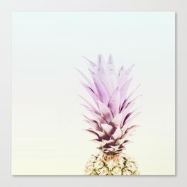 PASTEL PINEAPPLE no2 Canvas Print