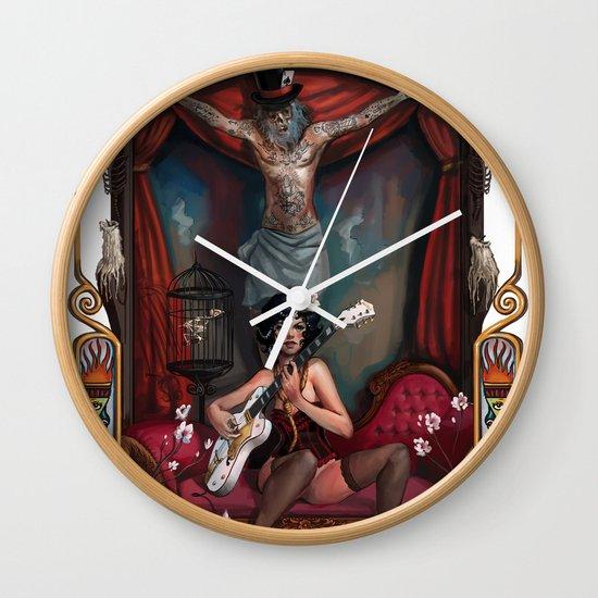 Cirque du Mort Wall Clock
