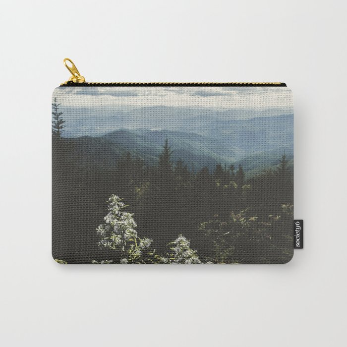 Smoky Mountains - Nature Photography Carry-All Pouch