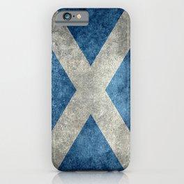 Flag of Scotland or Scottish Flag iPhone Case