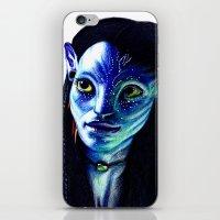 avatar iPhone & iPod Skins featuring AVATAR by csmithart