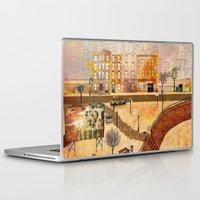 brooklyn Laptop & iPad Skins featuring Brooklyn by Katy Davis