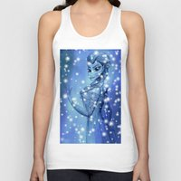 frozen Tank Tops featuring Frozen by shannon's art space