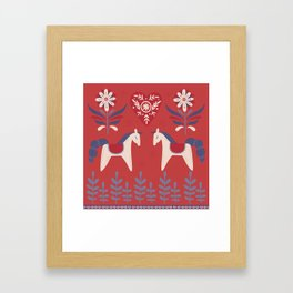Swedish Christmas 2 Framed Art Print
