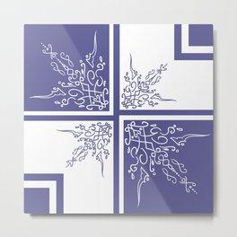 Lavender Shelf Metal Print