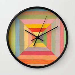 God's Eye Pattern Wall Clock