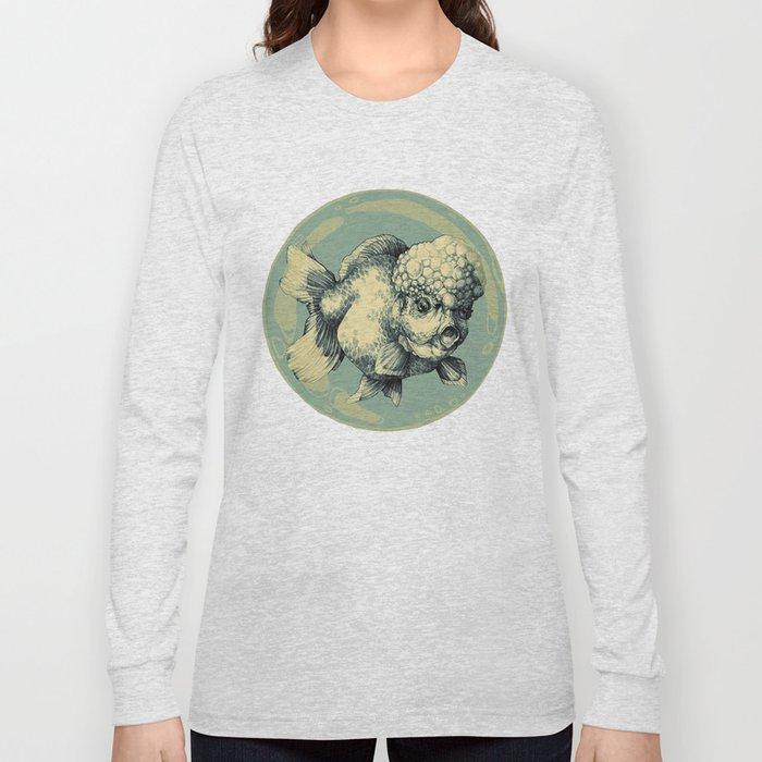 Bubble Head Fish Long Sleeve T-shirt