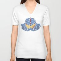 pacific rim V-neck T-shirts featuring Pacific Rim by Charleighkat