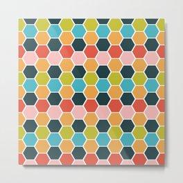 hexagon style 1 Metal Print