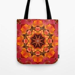 Serviceberry mandala tapestry II Tote Bag