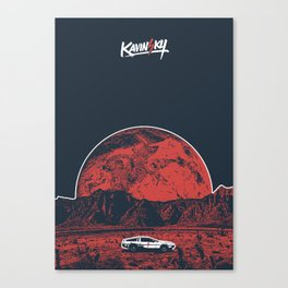 KΔVINϟKY Canvas Print