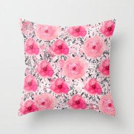 Luxury Spring Throw Pillow