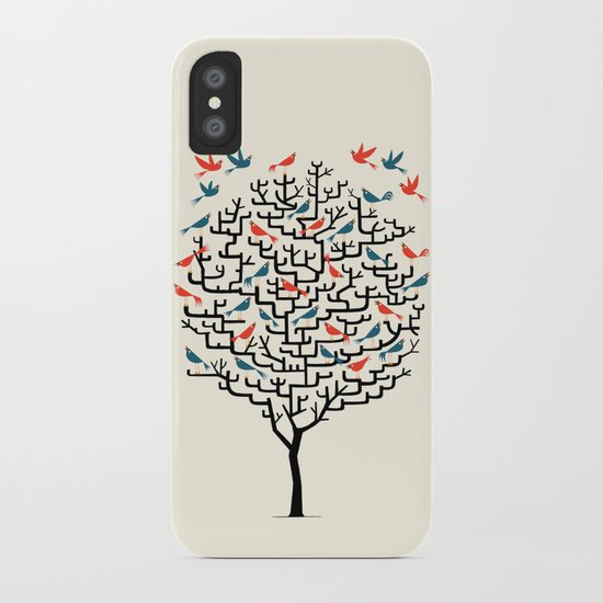Out On a Lark iPhone Case