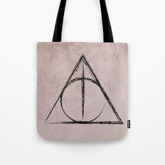 Deathly Hallows (Harry Potter) Tote Bag