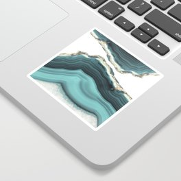 Sea Agate Sticker