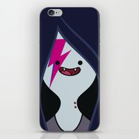 marceline iPhone & iPod Skins featuring Marceline Stardust by lapinette