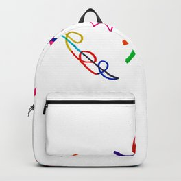 Funky Way Doodle Backpack