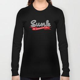 Sunk script Long Sleeve T-shirt