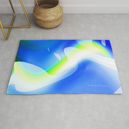 """'70's Lava Lamp"" Photograph Rug"