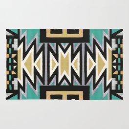 Ethnic african geometric pattern Rug
