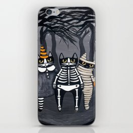 The Trick or Treat Gang iPhone Skin