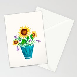 Sunflowers Summer Dream Stationery Cards