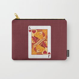 King of Hearts Carry-All Pouch