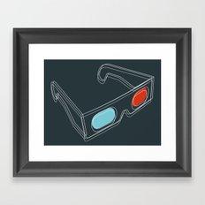 INSIDE 3D Framed Art Print