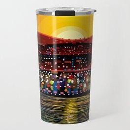 Angel Island Sunset (Square) Travel Mug