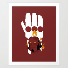 Right Hand of Doom Art Print