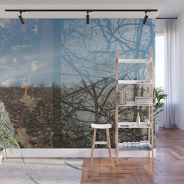 Double Exposures, January Series 3 Wall Mural