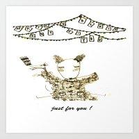 happy birth day to you Art Print