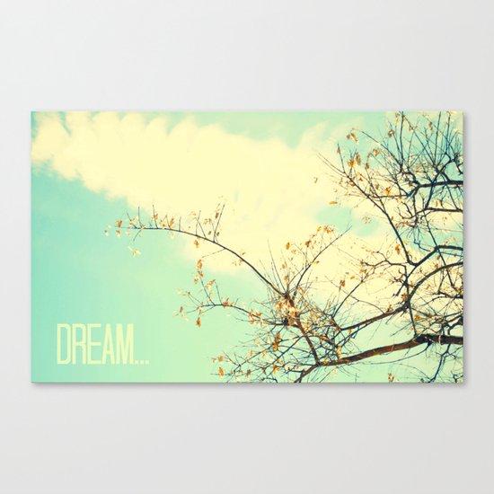 Dream... Canvas Print