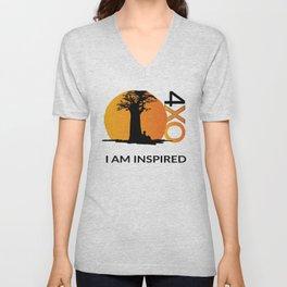I AM INSPIRED Unisex V-Neck