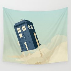 Time to Fly Wall Tapestry