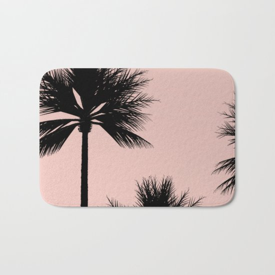 Midnight Palm Bath Mat