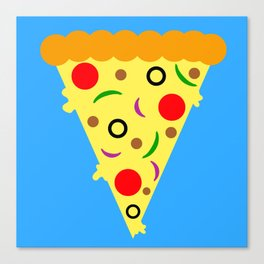 Pizza!  Food of the Gods! Canvas Print