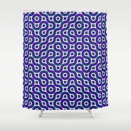 Truchet Tiles Shower Curtain