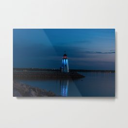 Be a becon of light Metal Print