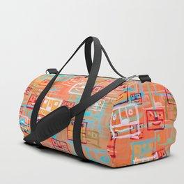 Many Faces Duffle Bag