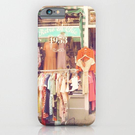 Vintage Shop iPhone & iPod Case
