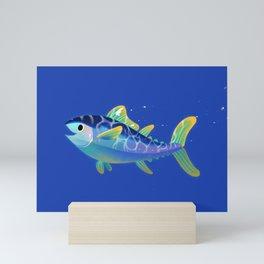 Atlantic Bluefin Tuna Mini Art Print