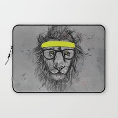 hipster lion Laptop Sleeve