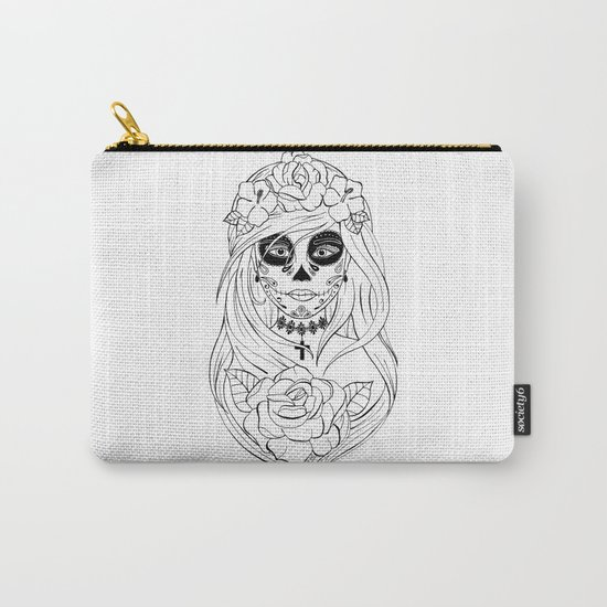 Santa Muerte NB Carry-All Pouch