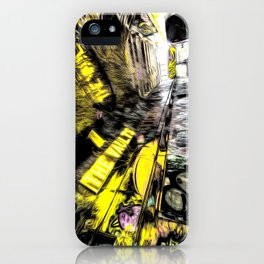 London Graffiti Art iPhone Case