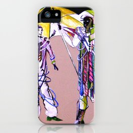 hamlet &  horatio go to American iPhone Case